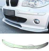 H Style FRONT BUMPER LIP SPOILER For BMW E87 E81 HATCHBACK 120i 130i 1-SERIES 04-06