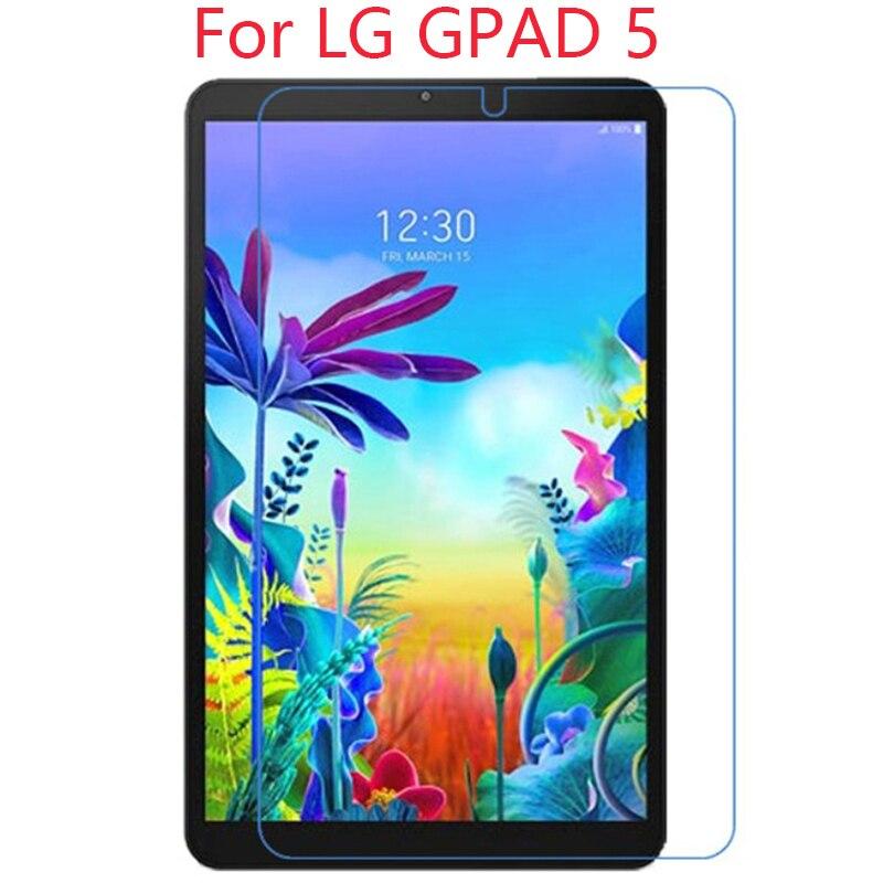2 uds Protector de pantalla de vidrio templado para LG GPAd 5 10,1 FHD LM-T600L película protectora de pantalla para LG G PAd 5 10,1 de vidrio