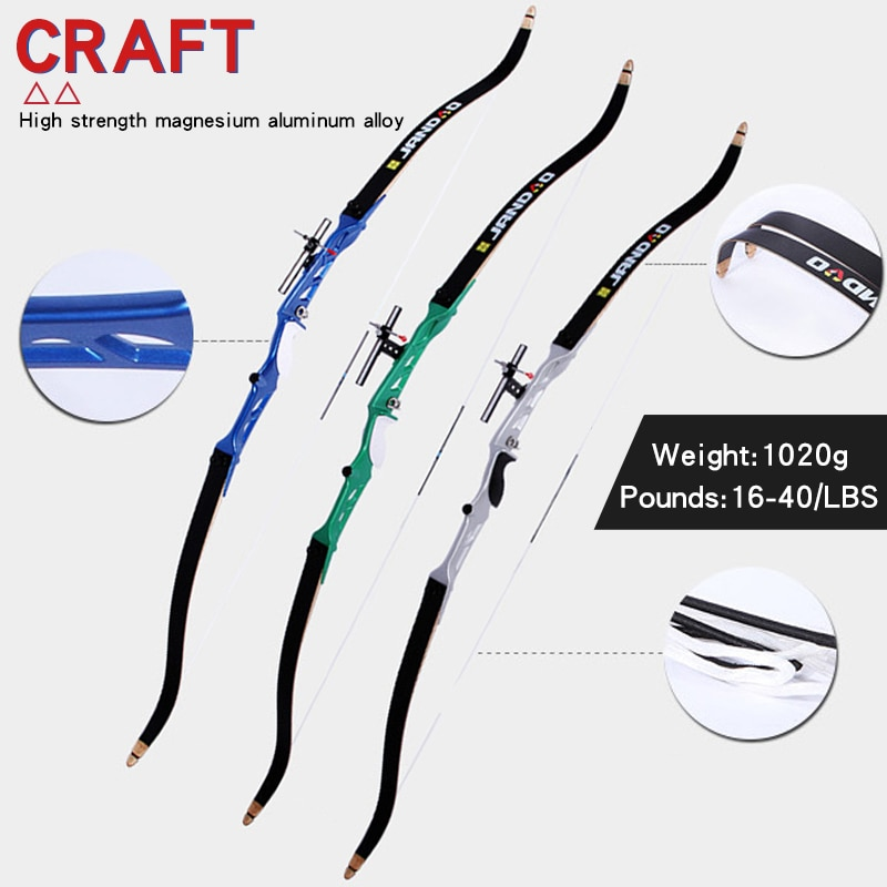 25-40 lbs Archery Recurve Bow Traditional Bow And Arrow Long Bow Outdoor Hunting Accessories for Left And Right Hand Shooting