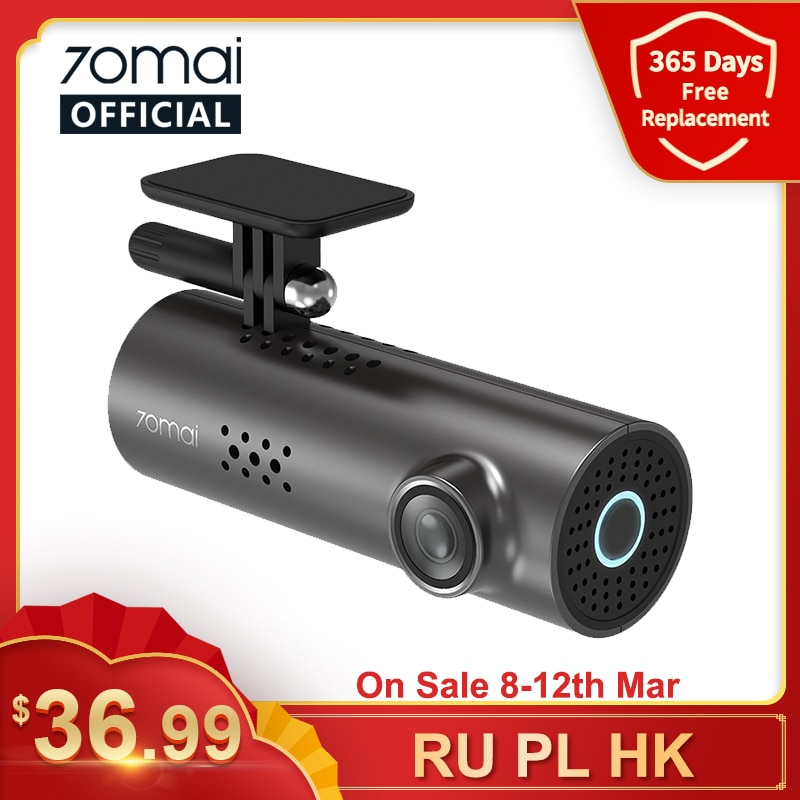 70mai Car DVR 1S APP & English Voice Control 70mai 1S 1080P HD Night Vision 70mai 1S Dash Camera Recorder WiFi 70mai Dash Cam