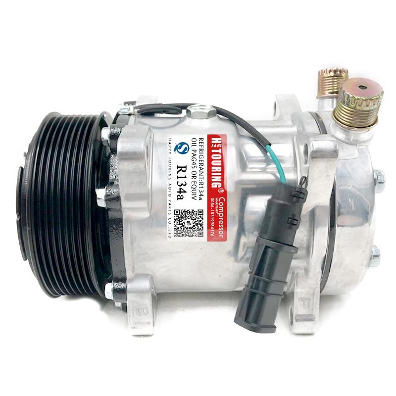SD7H15 7H15 sprężarka klimatyzacji dla Man truck TGA TGX TGS 51779707028 81619066012 8FK351135-141 TSP0155813 4 sezony 68220 51-0360