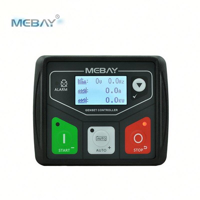 Módulo de Control de generador CC 30d de Mebay, pequeño grupo electrógeno diésel, Panel Controlador, conexión de PC programable USB