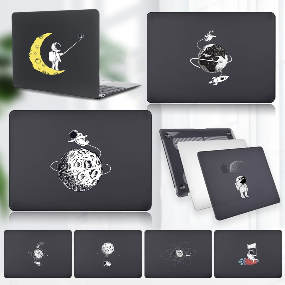 Laptop Case for Apple Air 13 A2337 M1 2020/Air 13 A1369 A1466 A1932/Pro 13 A1425 A1502 A1425 A1502 - Astronaut Pattern Hard Case