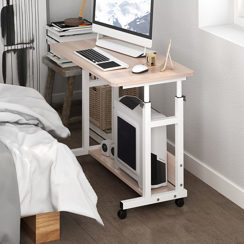 Стол компьютерный Портативный Регулируемый, прикроватный столик, столик для ноутбука, журнальные столики, регулируемый, на ножках, для гост...