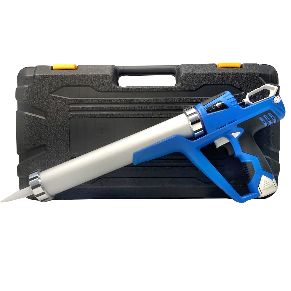 Electric Cordless Caulking Guns With 1.5AH 2 Li-Batteries 12V  DIY Electric CorHandheld Glass Hard Rubber Sealant Guns Tool