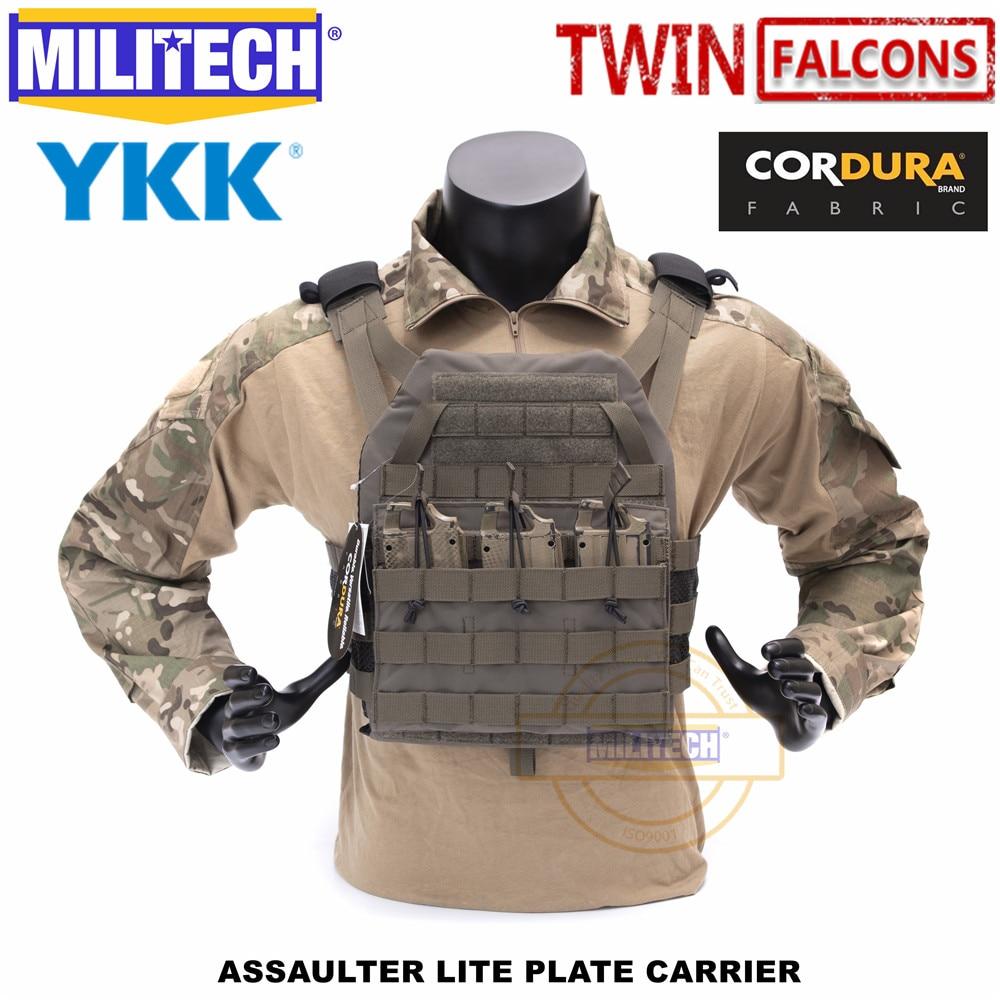 MILITECH TW twinfalcon ALPC нападение LITE тарелка тактический жилет изготовлен из 500D DELUSTERING