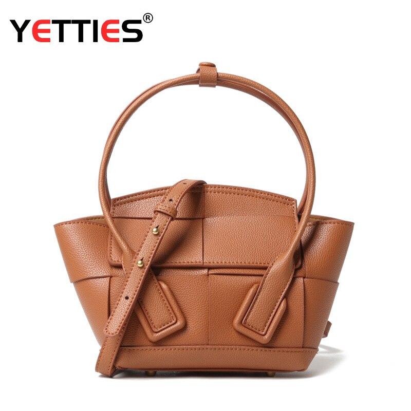 حقائب سيدة نمط جديد الجلود المنسوجة أجنحة نمط حقيبة سعة كبيرة أنيق تنوعا حقيبة يد