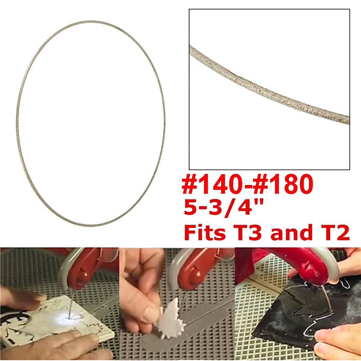 Hojas de sierra de diamante Alambre de corte para esmeril Jade Metal piedra vidrio roca herramienta de corte de granito para Taurus/CRL/New Apollo