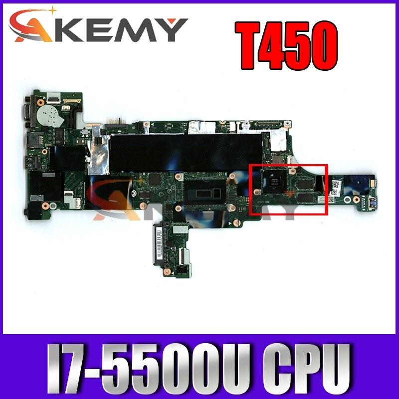 لينوفو ثينك باد T450 اللوحة الأم 20BU 20BV وحدة المعالجة المركزية: I7-5500U وحدة معالجة الرسومات: GF940M NM-A252 FRU 00HN513 00HN517 00HN518