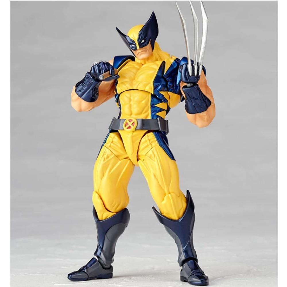 Marvel X- Men No.005 Boxed Wolverine Logan Howlett Super Hero BJD Figure Model Toys 15cm Unisex Resin The Avengers Movie & TV