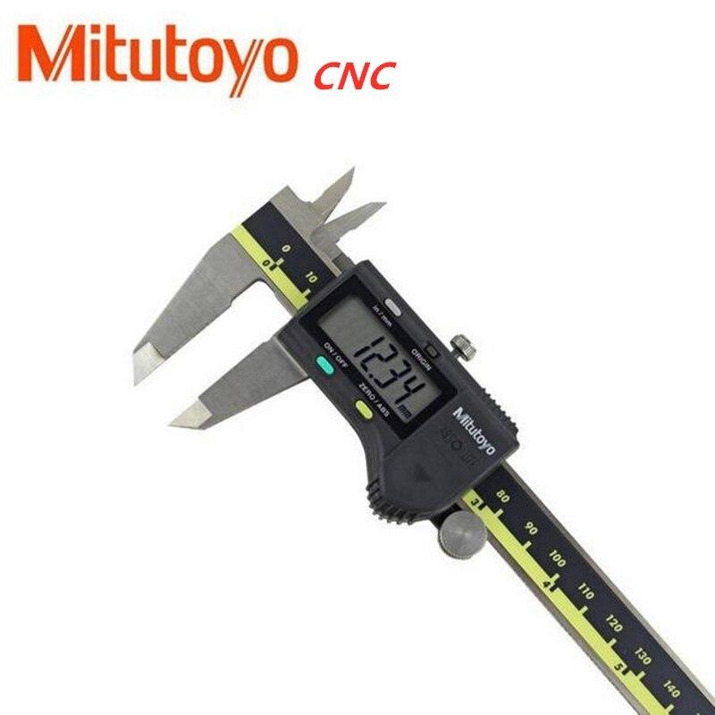 فرجار إلكتروني, Mitutoyo CNC LCD فرجار رقمي فرجار الورنية 6 بوصة 150 300 200 مللي متر 500-196-20 مقياس إلكتروني قياس الفولاذ المقاوم للصدأ