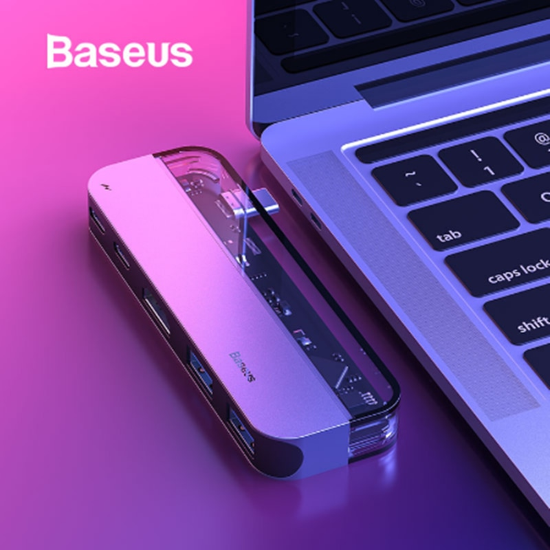 BASUES USB C HDMI кабель Тип C к HDMI концентратор адаптер USB-C HDMI конвертер тип-c Thunderbolt 3 док-станция для MacBook huawei mate 30 Pro