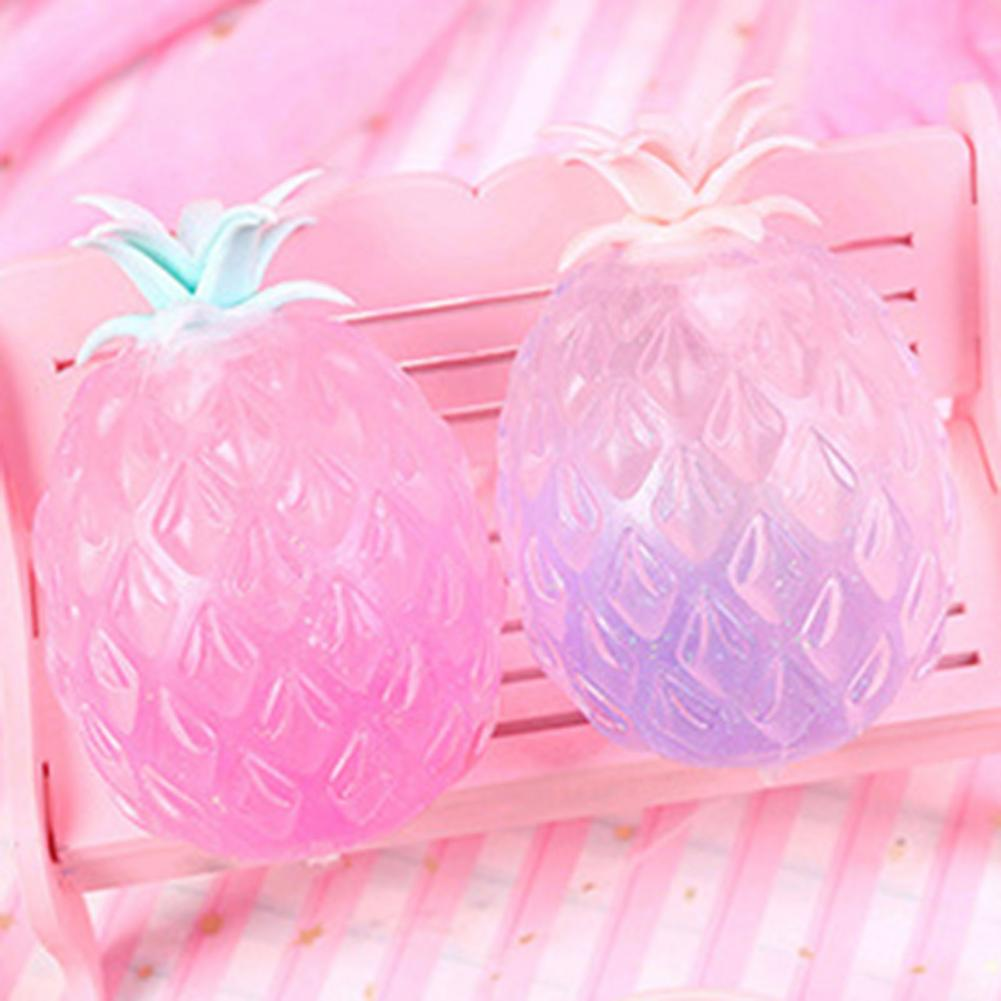 Pineapple Anti Stress Funny Gadget Vent Decompression Toys For Children Stress Autism Hand Wrist Squeeze Toys Children Vent Toys enlarge