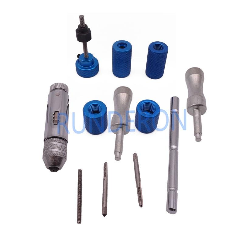 Profissional Ferramenta para Denso Common Rail Injector De Combustível Filtro Removel Montagem Desmontagem Ferramentas de Reparo Kit