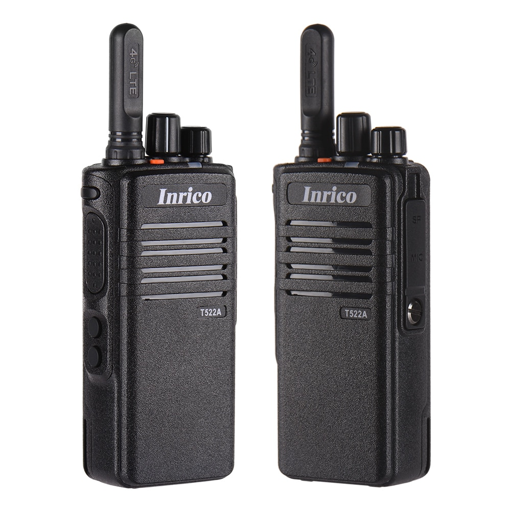 Inrico T522A Zello portable telephone 4G network CB POC radio GPS Bluetooth Rugged walkie talkie for police subway