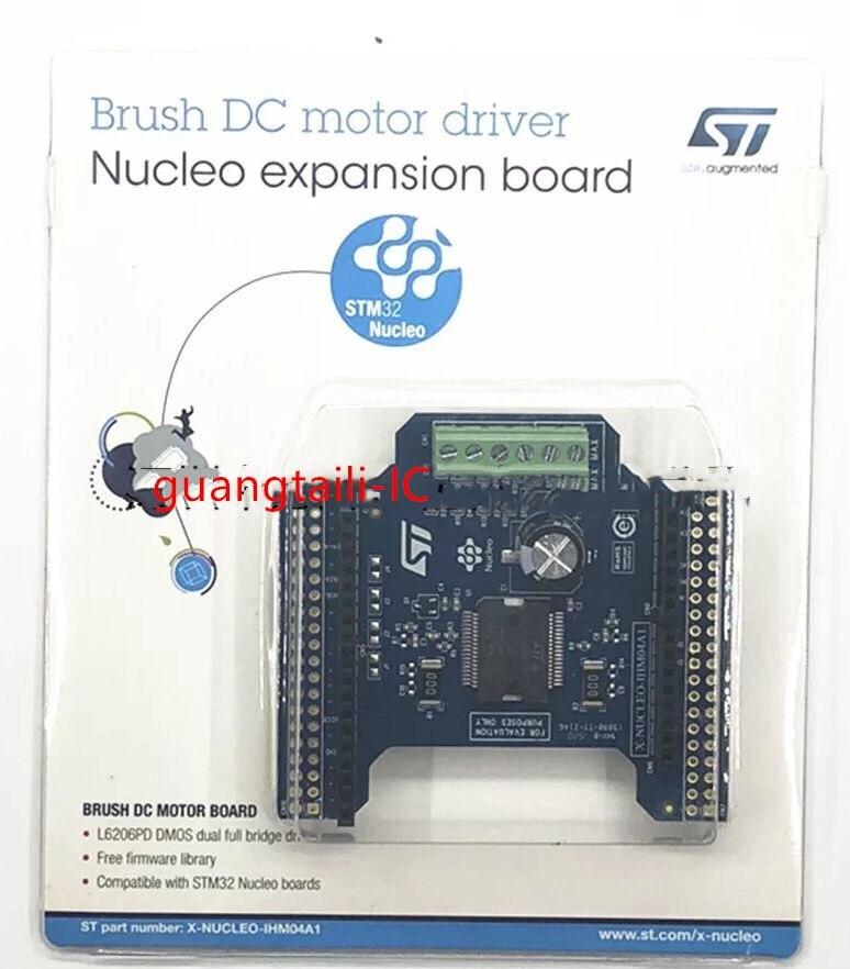 1 قطعة X-NUCLEO-IHM04A1 المزدوج فرشاة موتور تيار مباشر سائق لوح تمديد استنادا L6206 ل STM32 Nucleo