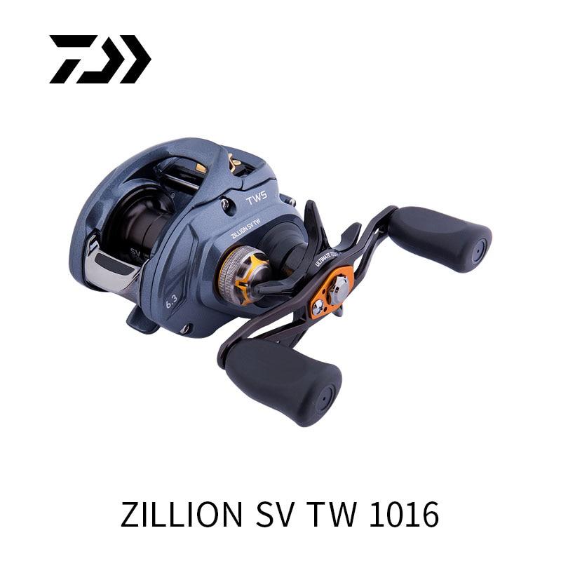 Daiwa zillion sv tw 1016h 1016hl 1016sh 1016shl carretel de pesca baitcast
