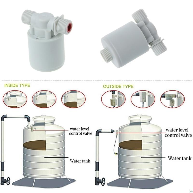Автоматический контроль уровня воды башня клапана бак плавающий шаровой кран водонапорная башня
