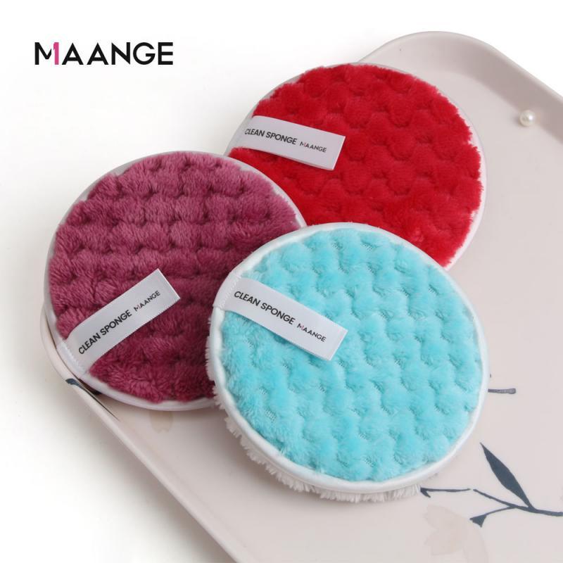 1 Pc 6 Farben Ananas-förmigen Doppel-seitige Puff Mikrofaser Make-Up Entferner Handtuch Faul Make-Up Entferner Wiederverwendbare Puff