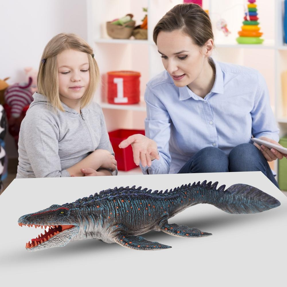Static Solid Dinosaur Realistic Figures Lifelike Mosasaurus Dinosaur Model Perfect Toys Decoration For Party Favor Kid Toy Gift lifelike dinosaur model static solid mosasaurus dinosaur realistic figures perfect toys decoration for party favor kid toy gift