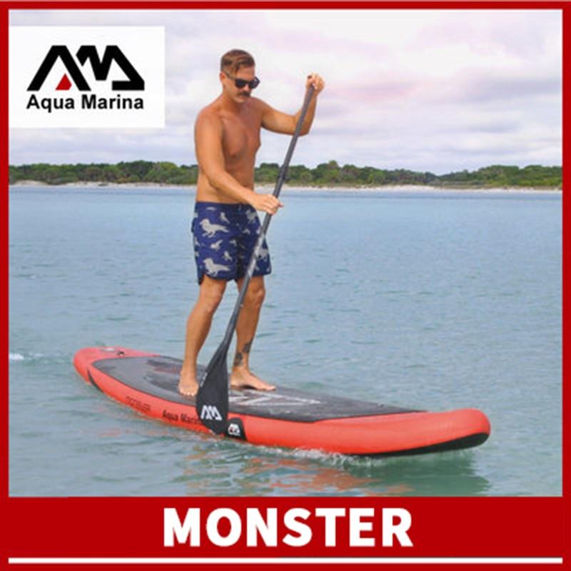 Aqua Marina monstruo 365*82*15cm inflable tabla de surf Paddle surf placa