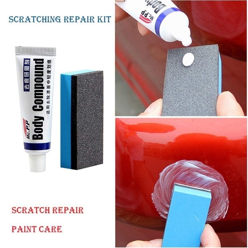 Car Repair Car Body Compound Paste Set Scratch De-mark Abrasive Paint Care Auto Polishing Grinding Polish Care Car Accessories