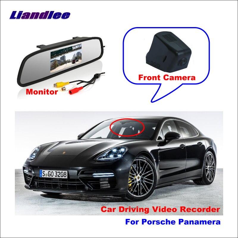 Liandlee Car DVR Wifi Video Recorder Dash Cam Camera For Porsche Panamera Night Vision APP Control Mobile Phone