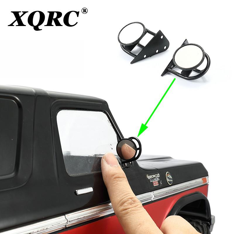 RC car traxxas trx-4 axial scx10 upgrade part stainless steel mirror trx4 movable metal modified rearview mirror