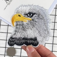 eagle patch for clothing iron on embroidered sew applique cute fabric badge diy apparel shoes hats bag diy accessories