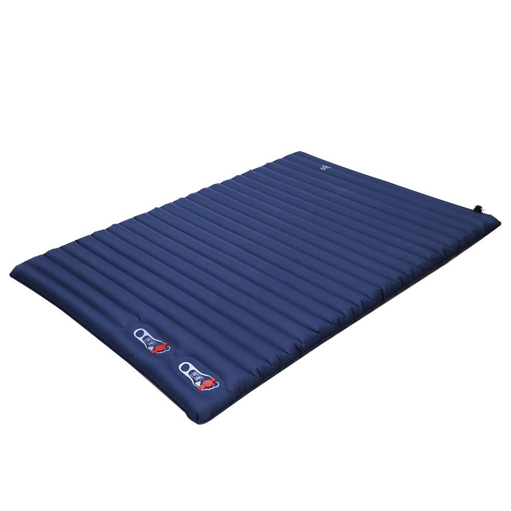 2m Thicken Camping Sleeping Pad Air Bed Mat Outdoor Mat Ultralight Inflatable Mattress For Hiking Trekking Tent