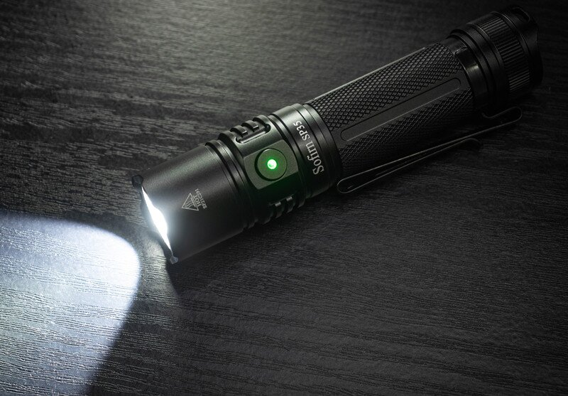 Sofirn SP35 Rechargeable LED Flashlight 21700 Type C 2A SST40 2200lm Torch 2 Groups with Ramping Power Indicator Update ATR enlarge