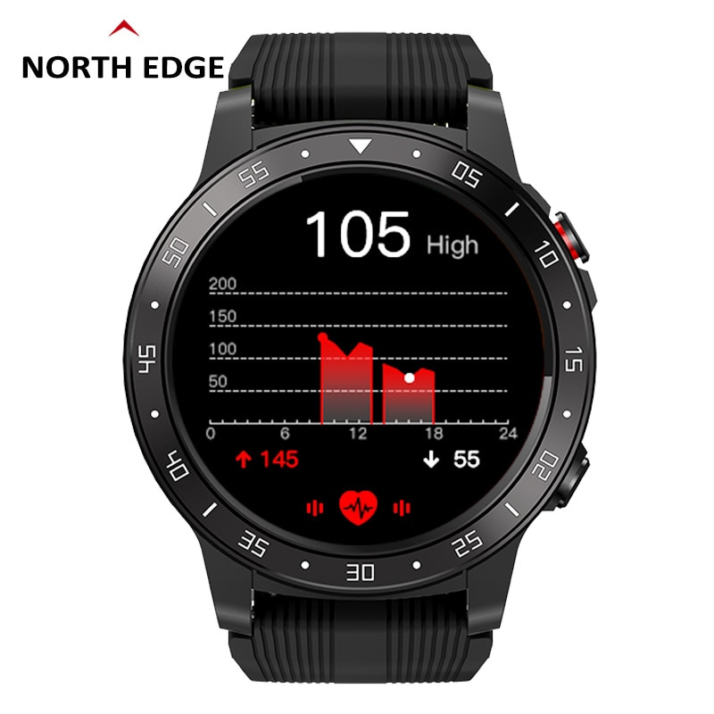 North Edge GPS Sports Watch Bluetooth Call Multi-Sport Mode
