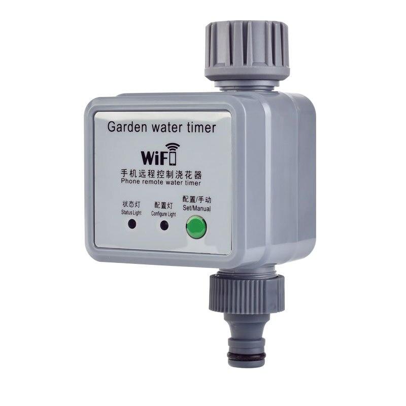 Système d\'irrigation goutte-à-goutte avec minuterie, contrôleur WiFi pour plantes d\'extérieur et jardin à domicile
