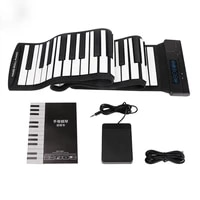 portable flexible 88 keys usb flexible roll up roll up electronic piano keyboard usb friend kid birthday holiday gift party new
