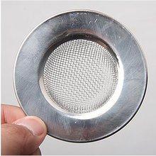 Sink Strainer For Shower Plug Hole Hair Catcher Bath Or Kitchen Sinks Stainless Steel Sink Drain 7.5