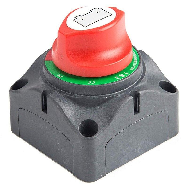 Interruptor maestro de aislamiento de desconexión de 3 posiciones, interruptor de apagado...