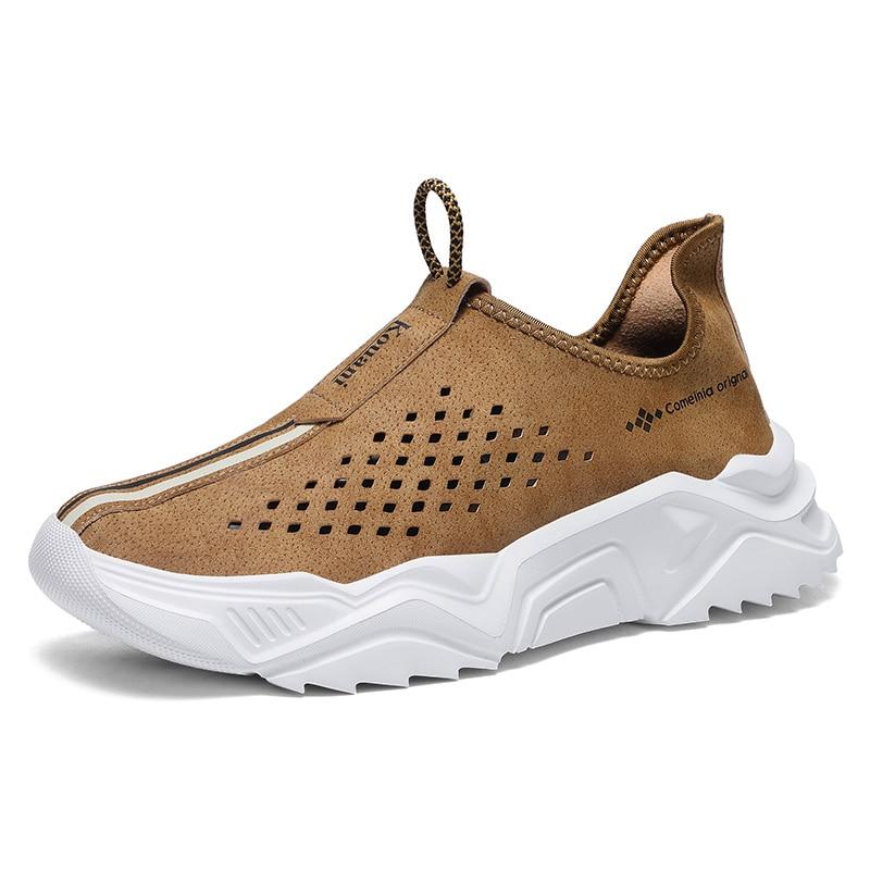 2021 Fashion Men Sneakers Mesh Casual Shoes Lac-Up Mens Shoes Lightweight Vulcanize Shoes Walking Sneakers Zapatillas Hombre