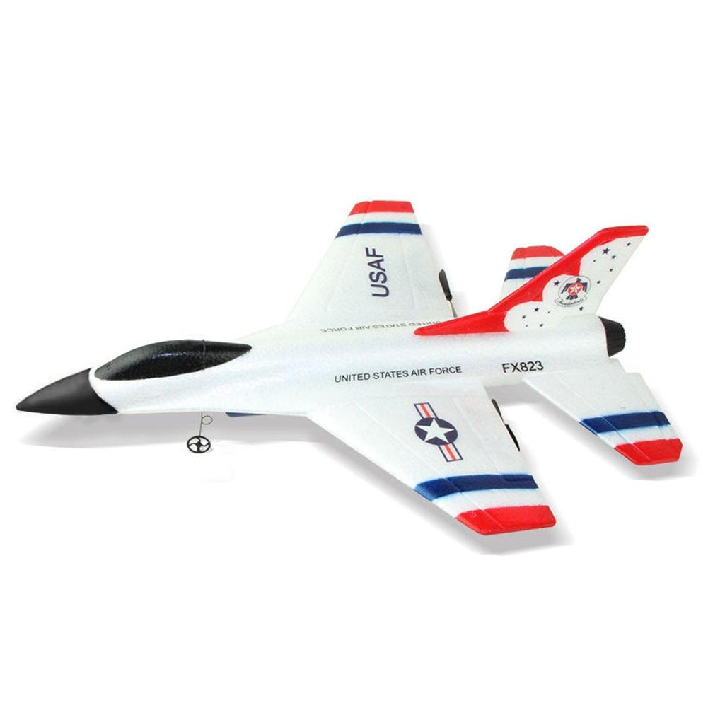 F16 Thunderbirds RC Airplane 2.4G Remote Control 80 meters Aeroplane Glider Beginner RC Glider Airplane remote control plane enlarge