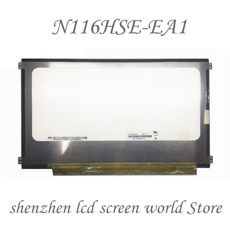 "EDP 30 PIN FHD 11.6 ""N116HSE-EB1 fit N116HSE-EA1 REV.C1 N116HSE-EJ1 LAPTOP Matrix LCD LED-BILDSCHIRM 1920X1080 Panel Ersatz"