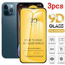 Закаленное стекло Hypoin с полным покрытием для iPhone 11, 12 Pro, Max, XS, XR, 7, 8, 6s Plus, Защита экрана для iPhone 12, 11 Pro, защитная пленка