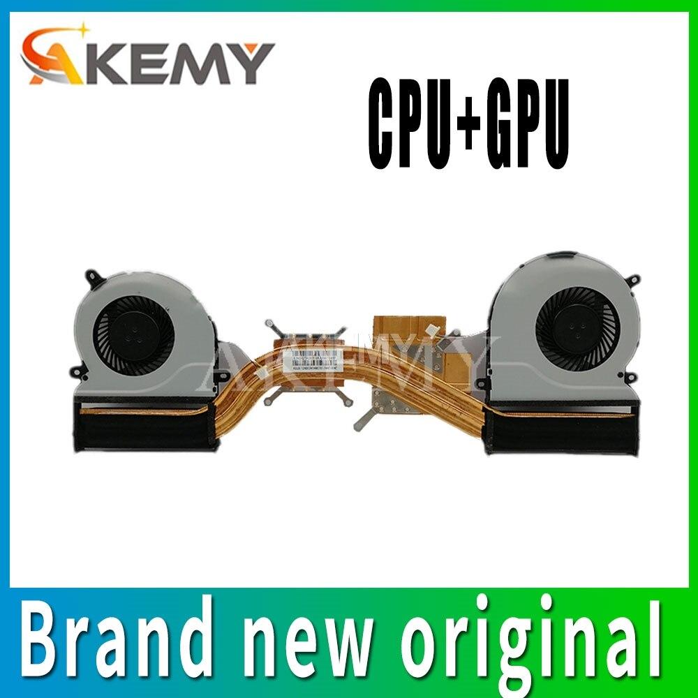New for ASUS ZenBook UX501V UX510VW N501V N501VW G501V G501VW CPU GPU FAN Cooling radiator Heasink FAN