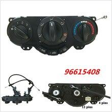 1 Uds., Panel de Control de calentador A/C para coche, aire acondicionado, interruptor de clima para Daewoo Lacetti Chevrolet Nubira Optra Excelle 96615408
