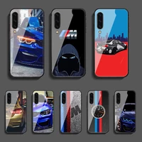 sportscar b m w phone tempered glass case cover for samsung galaxy a 3 5 7 10 20 20e 21s 30 30s 40 50 51 70 71 s soft hot phone