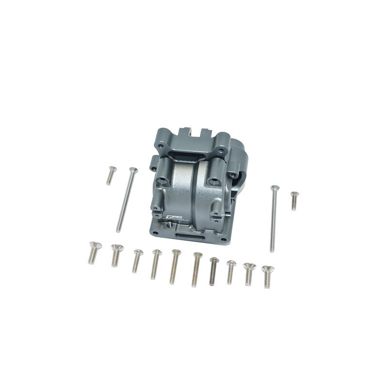GPM ALUMINUM REAR GEAR BOX LOSI 1/10 LASERNUT TENACITY ULTRA 4 ROCK TACER-LOS03028 LOS232023 LU4013 RC Car enlarge