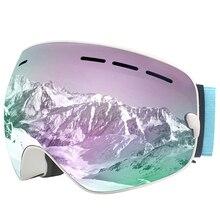 Lunettes de Ski MAXJULI-objectif Interchangeable-lunettes de neige Premium