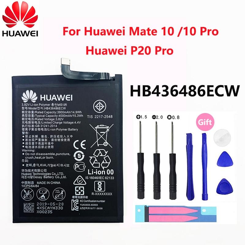 bateria original hb436486ecw 4000mah do telefone da substituicao de hua wei para