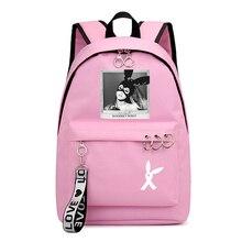 Mochila De moda Ariana Grande, Mochila para adolescentes, Mochila escolar para niñas, Mochila para ordenador portátil, Mochila de viaje de Hip Hop para mujeres