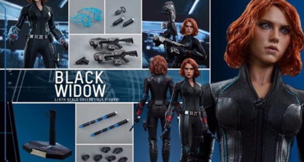 Hottoys 1/6 mms288 vingadores idade de ultron aou black widow 4.0 figura modelo, brinquedos