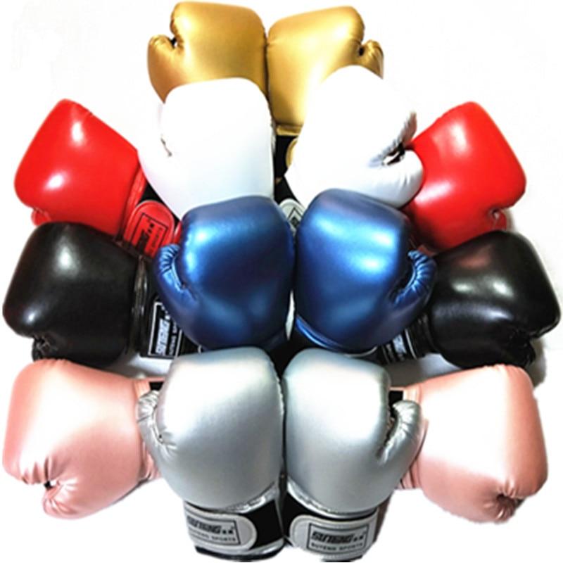 3-10 Years Kids Boxing Gloves For Fun Muay Thai Fight Sanda Martial Arts Bag Punching Training Mitts