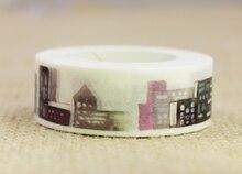 Night city washi masking tape(1piece)